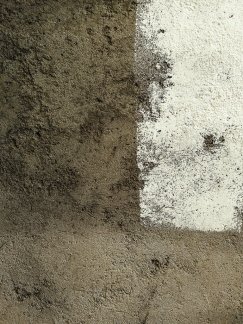 painting a concrete wall
