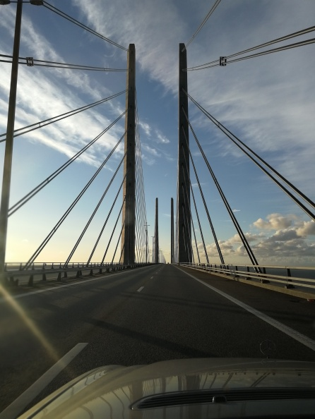 the bridge between denmark and sweden