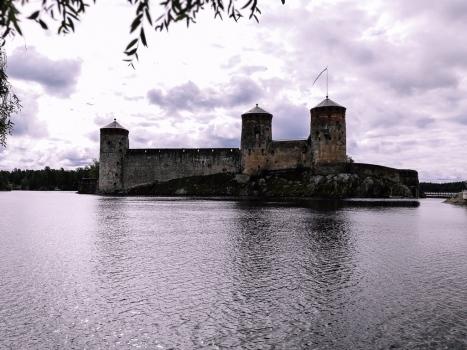 olavinlinna castle in Finland
