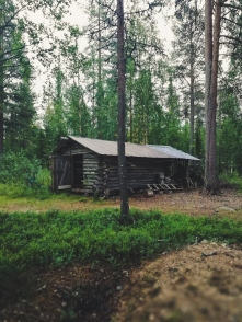 summer cabin in Lappland