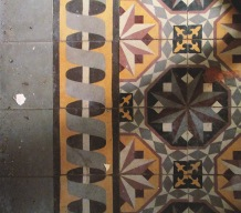 moroccan style cement tiles