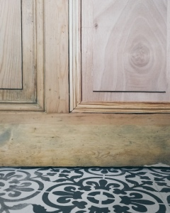 fixing a paneled door
