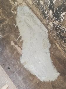 repairing a cracked concrete floor