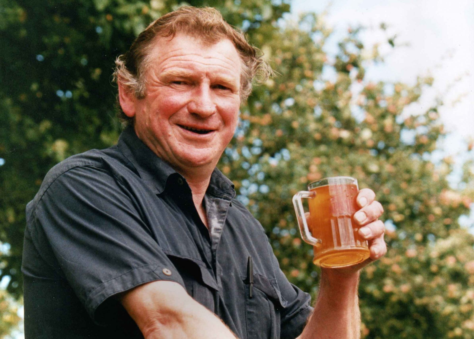 Roger Wilkins, the maker of the worlds best cider