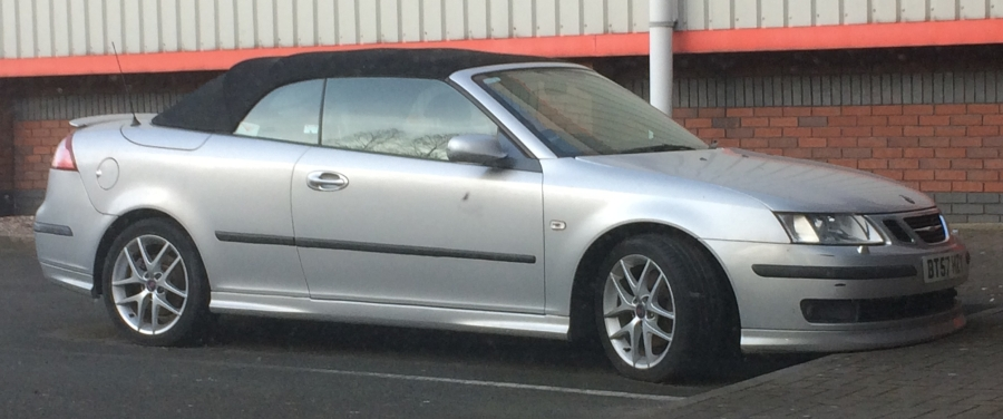 Saab 9-3 Cabriolet. Dream car