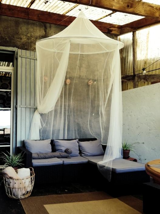 IKEA SOLIG net canopy