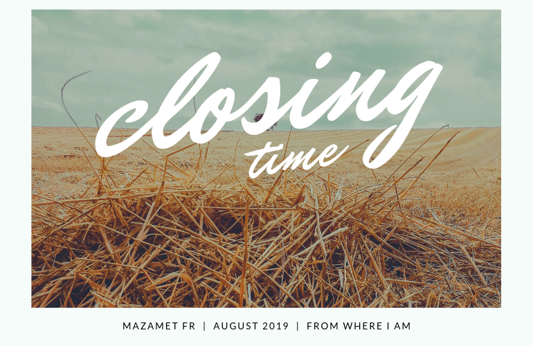 closing time featured image