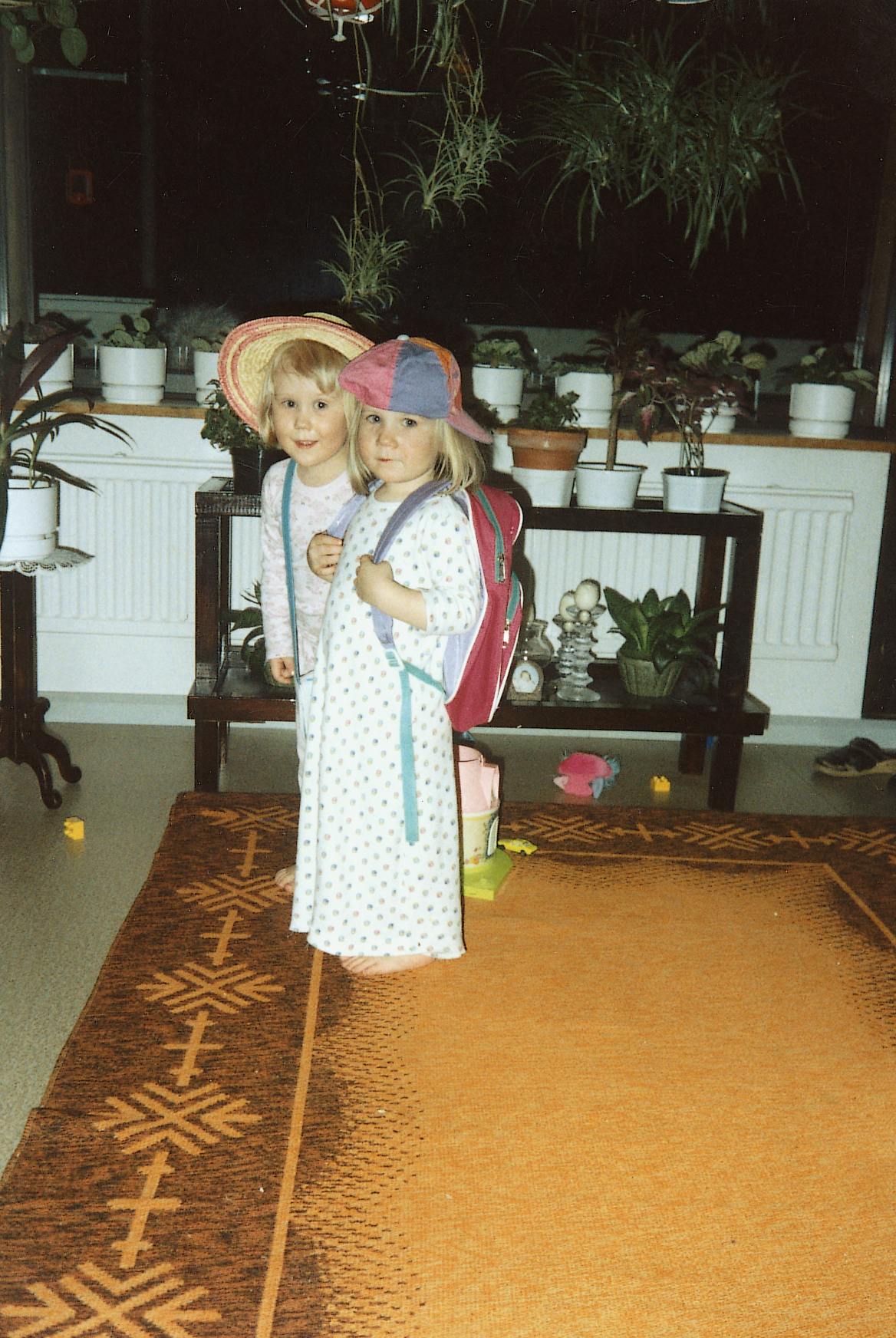Me and my wee sister around 1995