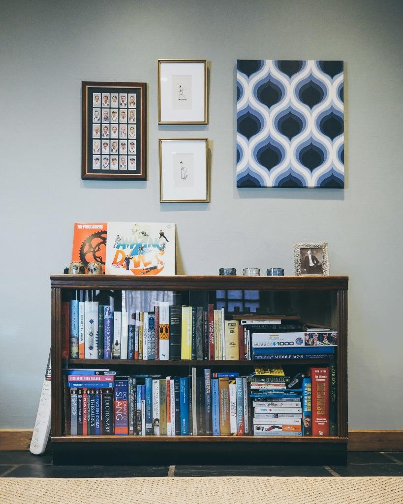 Our little vintage bookcase